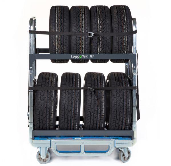Reifenwagen Loggyflex RT Reifentransport Staplerfähig