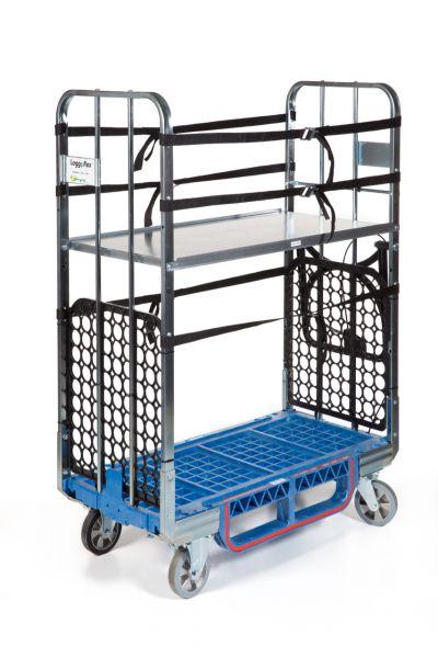 Montagewagen Loggyflex Duo inkl. 1 Zwischenboden